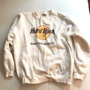 Vintage Hard Rock Cafe San Francisco Sweatshirt